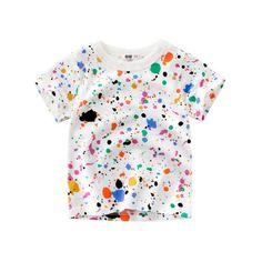 5010b0e9a Children's Wear Short Sleeve Child T Shirt Cotton Printing Boy Undershirts Child  Tops | Import-