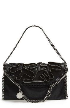 ca24e00678 Stella McCartney  Small Falabella  Faux Leather Foldover Tote available at   Nordstrom Stella Mccartney