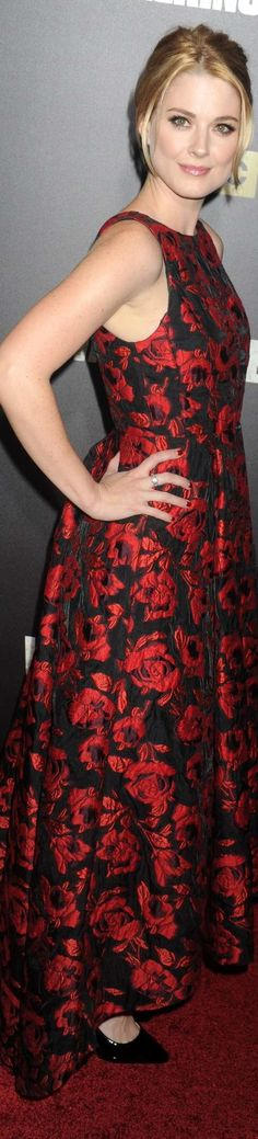 Alexandra Breckenridge The Walking Dead Season 6 NY Premiere