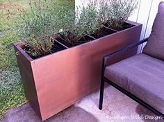 From office to Garden: Filing Cabinet to Garden Planter
