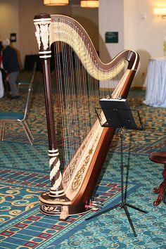The beautiful Harp!