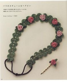 Crocheting Accessories : about Crochet Hair Accessories on Pinterest Crochet Hair, Crochet ...