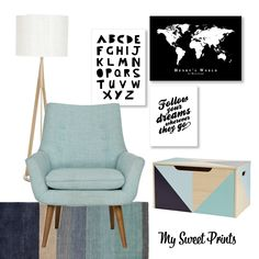 I designed this mood board to work for any home and any space. Whether it's a corner of the nursery, playroom or your living room it has all the elements you need for that special play and reading time. From the soft rug for playing on, toy box, lamp light and snug reading chair and…