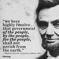 """Is Our Government Still """"Of the People""""?"""