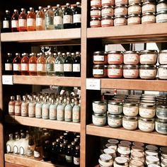Rows & rows of Sabon products!