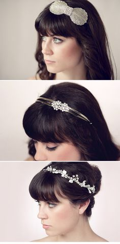 Lovely Sarah Seven, love the hair accessories