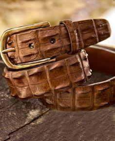 Hornback Croc Belt | 1816 by Remington