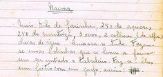 As Receitas da Avó Helena e da Avó Eduarda: Raivas
