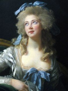 Elizabeth Louise Vigee-Lebrun, Portrait of Madame Grand