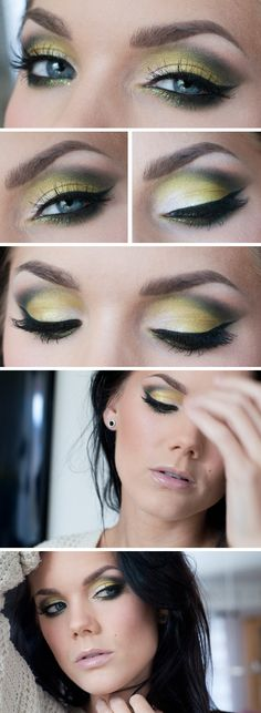 Todays look - The Crow | #dramatic #cateye
