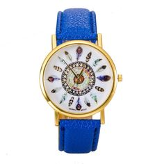 El reloj de cuero pluma, es tendencia esta temporada. Si buscas accesorios originales, para completar tus looks, los accesorios con detalles…