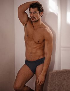 David Gandy. What a sexy man he is!
