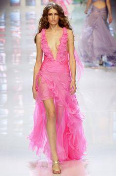 Eugenia Volodina Versace Spring/Summer 2004