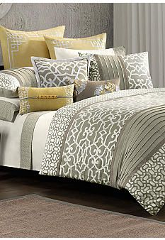 N Natori Fretwork Bedding Collection - Belk.com #belk #bedding