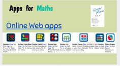 Maths apps for using with students to engage them in learning Online Web, Place Values, Fractions, Ecology, Maths, Behavior, Students, Knowledge, Classroom