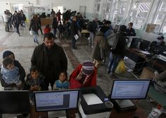 U.S. intelligence officials are warning that the Islamic State terrorist group may have seized an official government passport printing machine and a trove of blank passports in Syria and could be printing fake passports that would allow some of its followers to infiltrate the U.S. border.