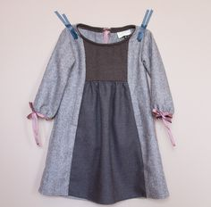 Lilypad montana hide and seek dress with apple picking sleeves