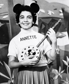 Annette Funicello one of my favorite mousecateers. She played in a lot of Disney movies.