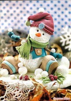 Журнал по лепке. Новогоднее. Felices fiestas.