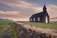 The Church At Búðir, via Flickr. Iceland