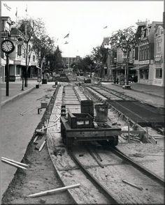 Construction of Disney