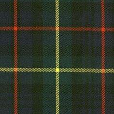 Farquharson Clan modern tartan.