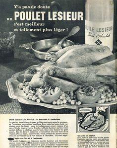 Huile Lesieur - La Vie Catholique illustrée, 25 avril 1962