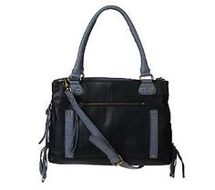 Muxo by Camila Alves Leather East/West Satchel
