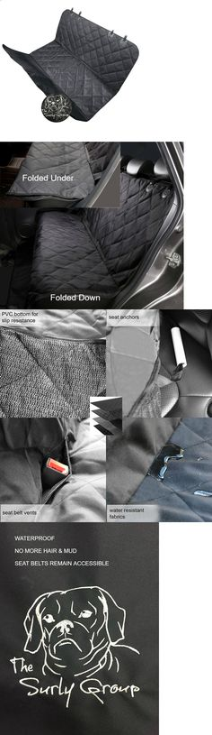 Car Seat Covers 117426: Luxury Pet Car Suv Van Back Rear Bench Seat Cover Waterproof Hammock For Dog Cat -> BUY IT NOW ONLY: $69.08 on eBay!