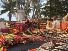 Visiting  Wayuu tribe members
