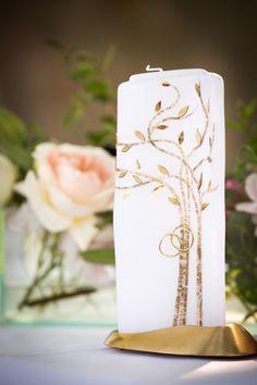 the candle Pillar Candles, Diy Wedding