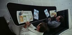 Are those iPads in 2001: a space odyssey? I guess 1968 isn't considered prior art over a 2004 design patent.