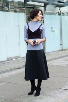 Yasmin Sewell Burberry Prorsum London Fashion Week autumn winter 2014-15 #LFW #StreetStyle