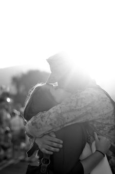 Kelsey Erin Photography- Military Homecomings. I wanted this with you. I wanted to prove to you that Id be waiting everytime for you and only you.
