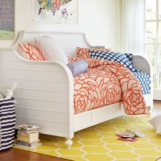 Kendall Day Bed White from PoshTots