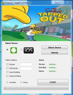 That is why The Simpsons Tapped Out hack is made to be safe for use. In the case of this The Simpsons Tapped Out hack, it's updated, safe and tested. The script is totally undetectable. It sends queries as if a real purchase has been made. Nothing suspicious about it's behavior. Great news, isn't it? I would thought so. But that's not even all of the safety features of this program. #freehacksgames
