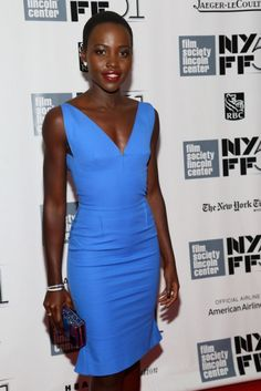 Lupita Nyong´o - she is my new crush!  I love everything about her!  She can definitely wear some clothes!  She makes them..they never make her!