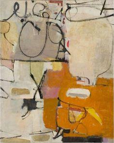 transistoradio: Richard Diebenkorn (1922-1993), Untitled (Albuquerque) (1951), oil on canvas, 113.7 x 142.2 cm. Via Artsy.