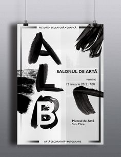 ALB (white) -poster design- on Behance Poster Design, Graphic Design, Exhibition Poster, Cultural Events, School Projects, Behance, Visual Communication
