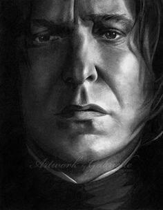 Professor Snape  - by gabbyd70  I don't know why, but no matter how much amazing Snape art I come across, every time I see this, I still get blown away. It's one of the most beautiful drawings I have ever seen.