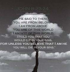John 8:23-24