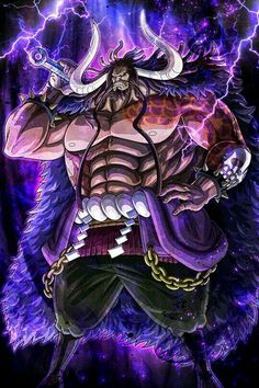 'Kaido - One Piece' Poster by Raed-D-Artist One Piece Manga, Kaidou One Piece, Haki One Piece, One Piece World, One Piece Drawing, One Piece Comic, One Piece Fanart, One Piece Luffy, One Piece Pictures