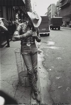 Macadam Cowboy by Robert Frank, New York, 1955