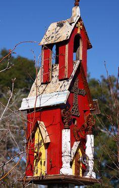 Bird house 2 by CamRich22 (On hiatus), via Flickr