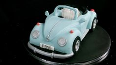 Learn how to make the VW Beetle Cake