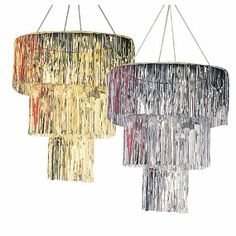 Amazon.com: Three Tiered Chandelier Silver: Toys & Games Great Gatsby Themed Wedding, Gatsby Themed Party, Gatsby Wedding, Great Gatsby Prom, Festa Rock Roll, Prohibition Party, Speakeasy Party, 1920s Theme, Roaring 20s Party