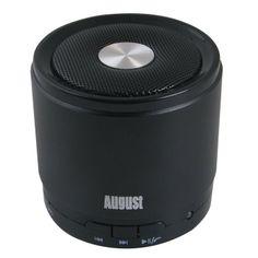 August MS425B Altavoz Bluetooth Portátil y con Micrófono