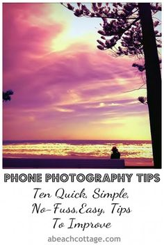 how to improve phone photography