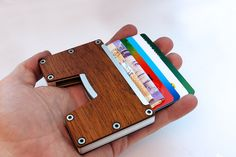 Small Wallet In hand Cards coming out.jpg
