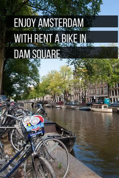 """If you rent a bike in Amsterdam, go for a place with good reviews and that is well established. My mother-in-law rented a bike from a no name, small shop and had a rickety bike all day long. Established bike stores like Rent a Bike ensure that you get a reliable bike to enjoy around Amsterdam all day long! Click through to find out how you can get 10% off your bike rental too! Head under the """"Transportaion/Bike"""" section. #sponsored"""